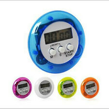 Mini Digital Magnetic LCD Stopwatch Timer Kitchen Racing Alarm Clock Stop Watch