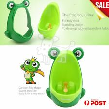Frog Potty Toilet Children Training Kids Urinal for Boys Pee Trainer Bathroom A5