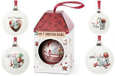 ME TO YOU Tatty teddy Christmas Tree BAUBLES Gift Ideas For Her Baby Decorations