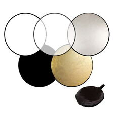 60cm 80cm 5in1 Photography Studio Light Mulit Collapsible disc Reflector JK