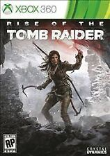 NEW Rise of the Tomb Raider Microsoft Xbox 360 Mature Action Adventure Game