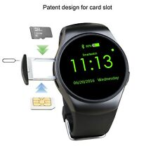 Smart watch KW18 Bluetooth Micro SIM CARD Heart Rate Monitor Remote Camera