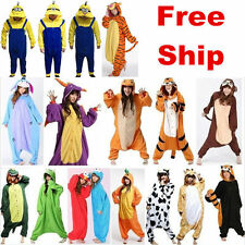 Adult Animal Onesie1 Pajamas Cosply Costume Unisex Sleepwear Fancy Dress Suit!