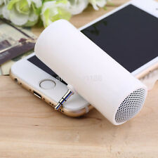 HOT Fashion Mini Portable Stereo Speaker 3.5mm Plug For Cell Phone Tablet MP3 US
