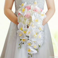 New Bridal Wedding Hand Holding Flower Bouquet Artificial Multiple choices