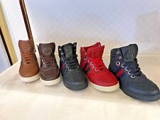 """Gucci Kids, shoes MicroGuccissima Junior Leather high-top with Web.""""Children's"""""""