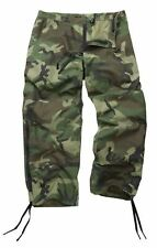 Genuine Reclaimed US Goretex Woodland Camo Trousers / Pants