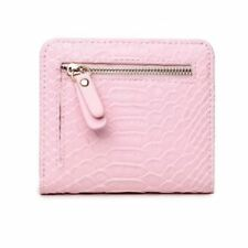 New Fashion Zipper Short Pu Leather Coin Card Holder Wallet For Women