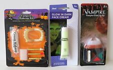 Halloween Make Up Face Paint Kit Vampire Makeup Set Glow In the Dark Face Cream