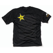 One Industries Rockstar Energy New Wave Black T-Shirt Tee Nitro Circus BMX Skate