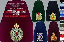 UNITS 1ST TO L  EMBROIDERED ROYAL CANADIAN ARMY NAVY AIR FORCE BEANIE WOOLLY HAT