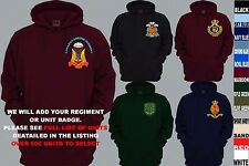 UNITS 1ST TO L  EMBROIDERED ROYAL CANADIAN ARMY NAVY AIR FORCE PULLOVER HOODY
