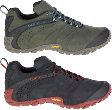 Merrell Chameleon II Leather Mens Sneakers Walking Hiking Shoes Trainers New