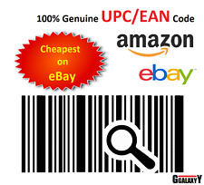 EAN 13 Numbers Barcodes UPC EAN Bar Codes for Amazon eBay 10 -100 000