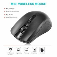 2.4GHz Optical Mouse Cordless for PC Computer USB Receiver Laptop Wireless Mi MN