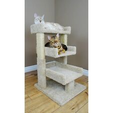 Cat Scratcher Pet Furniture Triple Condo House Kitty Bed Perch Play Post New Toy