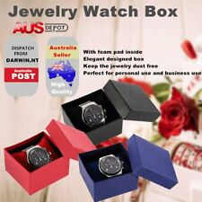 Present Gift Boxes Case For Bangle Jewelry Ring Earrings Wrist Watch Box NEW OB