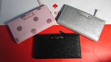 NWT Kate Spade Stacy Haven Lane Checkbook Wallet
