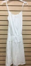 James Perse wbj6064 womens sz 3, 1 syn color white supima sun dress new