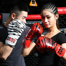 10OZ Boxing MMA Gloves Grappling Punching Bag Training Martial Arts Sparring