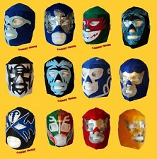 Halloween Costume Male Wrestling Mask Lucha Libre Mexican Party - Adult One Size