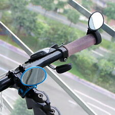 Bike Bicycle Cycling Rear View Mirror Handlebar Flexible Safety Rearview #S