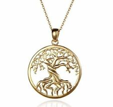 Women Gold Silver Plated Charm Vintage Long Chain Pendant Necklaces Jewelry