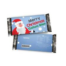 Personalised Christmas Chocolate from Santa Stocking Filler any Name or Message