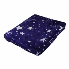 Bright Stars Soft Warm Plush Flannel Sleep Couch Blanket Bedding For Sofa Bed GA