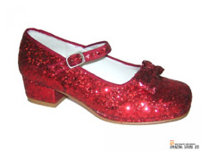 Dorothy's Ruby Red Shoes Wizard Oz Halloween Girls Child Secret Wishes