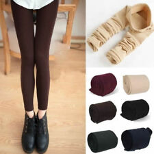 Womens Warm Winter Thick Skinny Slim Footless Leggings Stretch Pants New DS