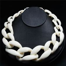 New Fashion Jewelry choker Necklace Plastic Chain Link Necklace
