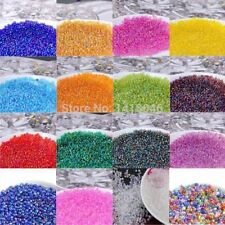 1500pcs Solid Color Seed Beads Crystal For DIY Jewelry Making