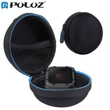 Portable Round charger earphone Bag stocker Mini Storage Hard Case Organizer Box