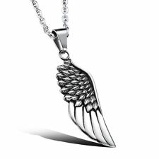 New Fashion Stainless Steel  Silver Color Pendant Necklace for Women Men