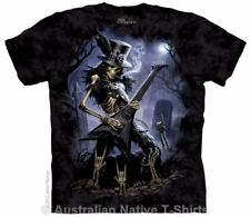 Play Dead Skeleton T-Shirt in Adult Sizes - Dark Fantasy by The Mountain Tees