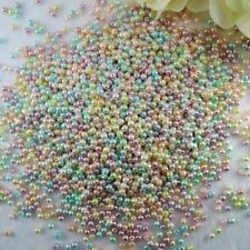 4mm 6mm 8mm 10mm Round Shape Glass Pearl Beads For Jewelry Making