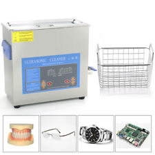 Ultrasonic Cleaner Cleaning Machine Dental 2-30L  Heater Stainless Steel & Timer