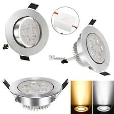 15W 85-265V Warm White Cool White Silver LED Ceiling Recessed Down Light WT88