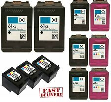 Ink Cartridge HP 61XL Black Tri-Color Combo ENVY 4500 DeskJet 1000 2540 3510 New