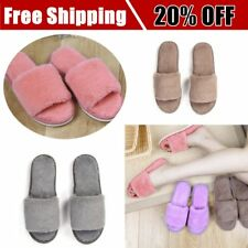 Autumn Winter Candy Color Anti-Slip Men Women Home Indoor Slippers Shoes P6