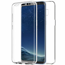 Cover Case Ultra Thin Slim 360 TPU Clear Gel Skin for Samsung Galaxy S8 S7 Edge