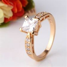 Women Fashion Gold Plated Cubic Crystal Earring Pendant Necklace Jewlelry Set