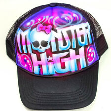Monster High hat | kids snapback | airbrush custom hat