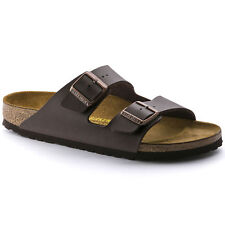 Birkenstock Birko-Flor Arizona $129.95rrp - Dark Brown  - BNIB 051701 & 051703