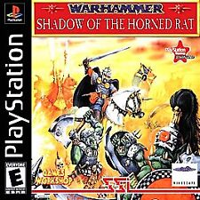 Warhammer Shadow of the Horned Rat (Sony PlayStation 1, 1996) PS1 PSX COMPLETE