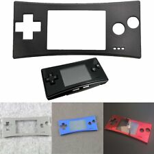 Front Faceplate Cover Case Shell Panel Protector for Nintendo Game Boy Micro GBM