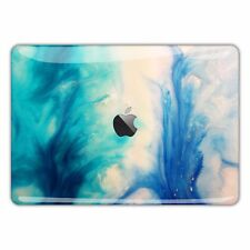 MacBook Decal Skin Sticker Pro Vinyl Cover Air Retina Blue Abstract Marble FSM93