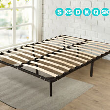 New Single/Double/Queen/King Metal Bed Base/Bed Frame w/ Timber Slat Support