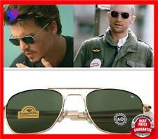 New Fashion Army Military Ao Pilot Sunglasses Brand American Optical Glass